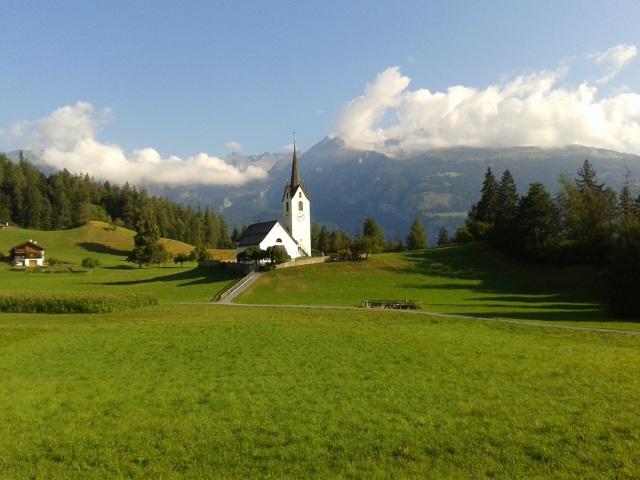 Lauferei - Kirche von Versam
