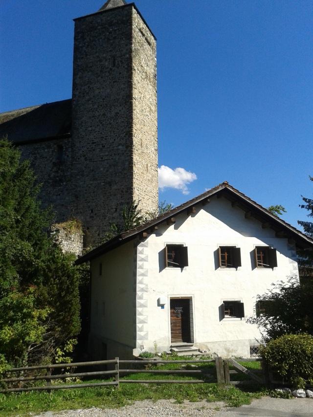 Lauferei - Burg in Riom