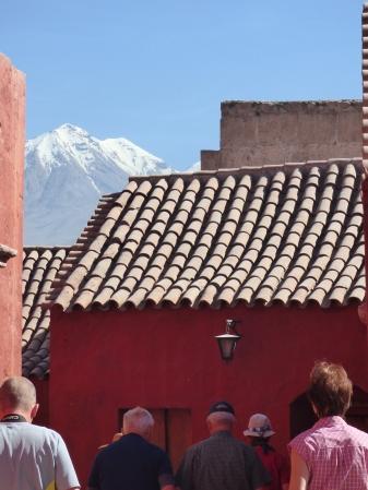 Lauferei Ankunft in Arequipa