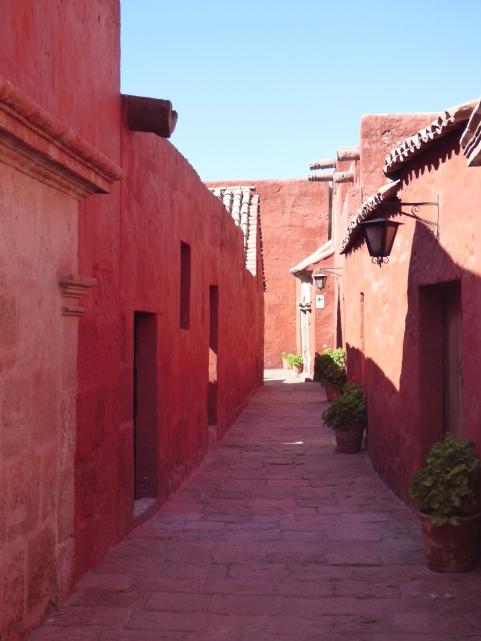 Lauferei Klosterdorf in Arequipa