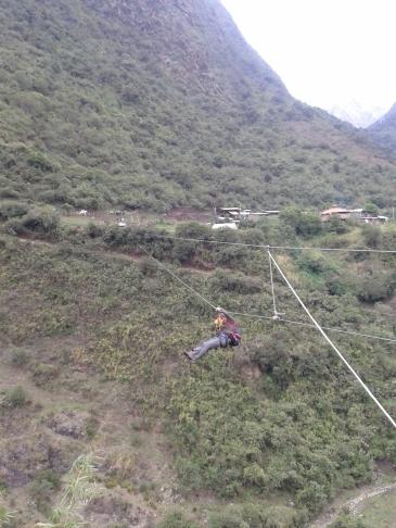 Lauferei Tyrolienne Seilrutsche