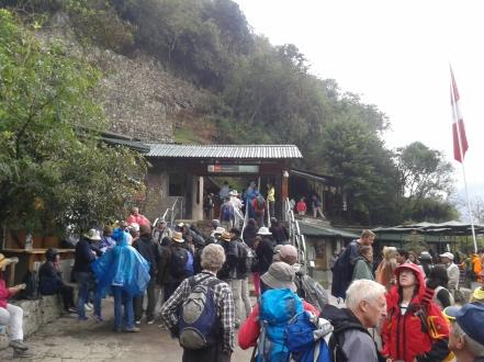Lauferei Eingang zu Machu Picchu