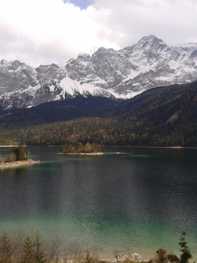 Lauferei - Eibsee mit Zugspitze