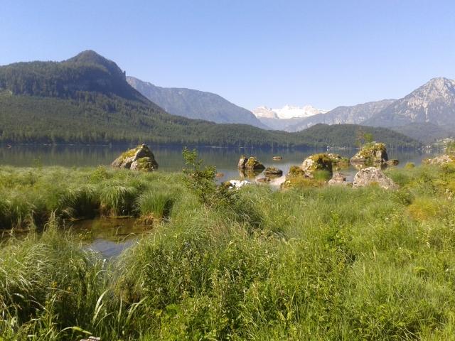 Lauferei - Blick über den Ausseer See Richtung Dachstein