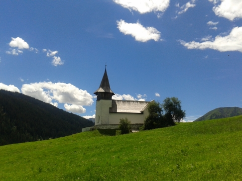 Lauferei - Kirche in Frauenkirch