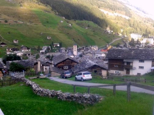 Lauferei - Vals Dorf