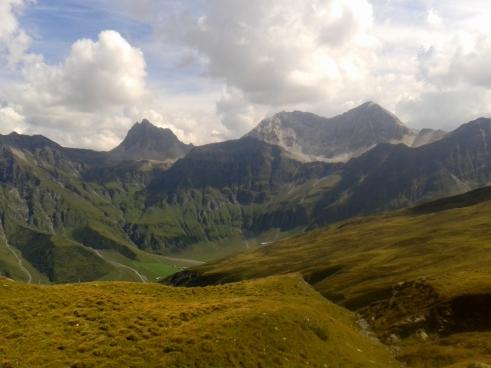 Lauferei -Bergpanorama Safiental