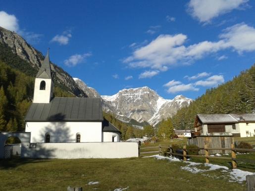 Lauferei - Kirche in S-charl
