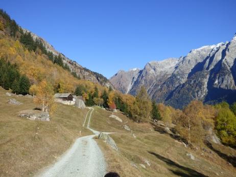 Lauferei - oberhalb von Borgonuovo / Bergell