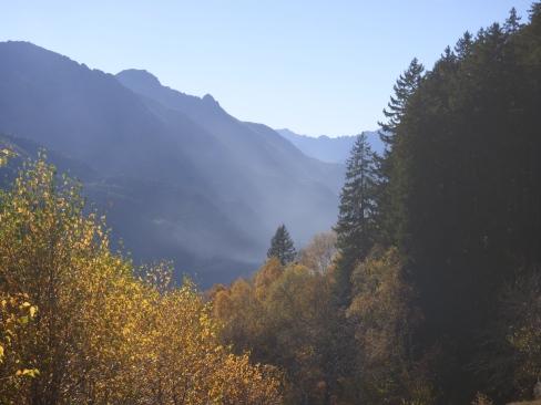 Lauferei - Blick Richtung Chiavenna